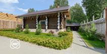 Виртуальный тур по Загородному банному комплексу - Малиновый лес